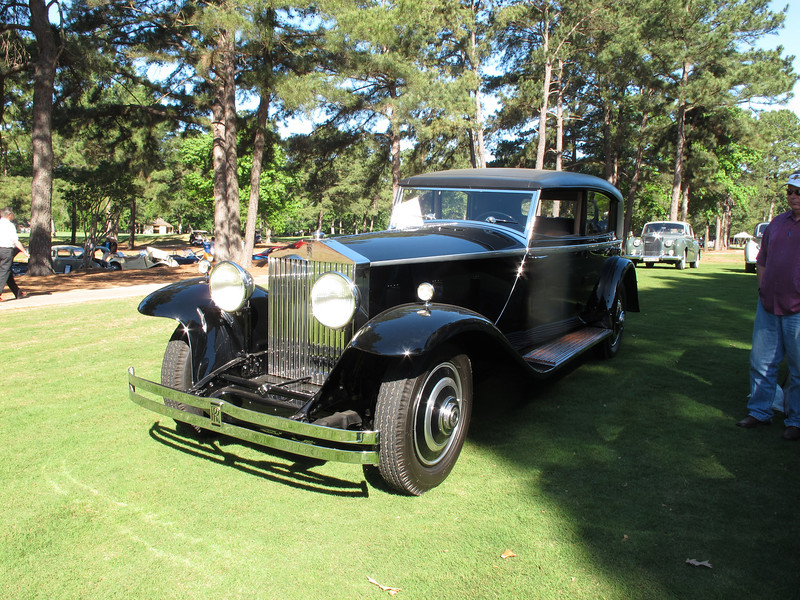 not member car - 1933 RR Springfield PII