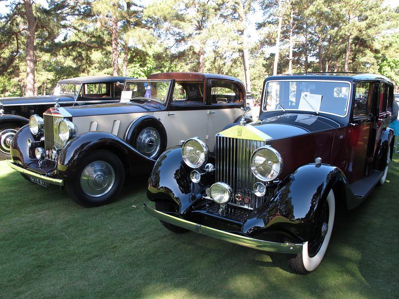 1937 RR PIII - Windovers - 3BU12 - Daniels & 1937 RR 25/30 Park Ward - GH08 - Downs