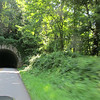 One of many tunnels on the Blue Ridge Parkway