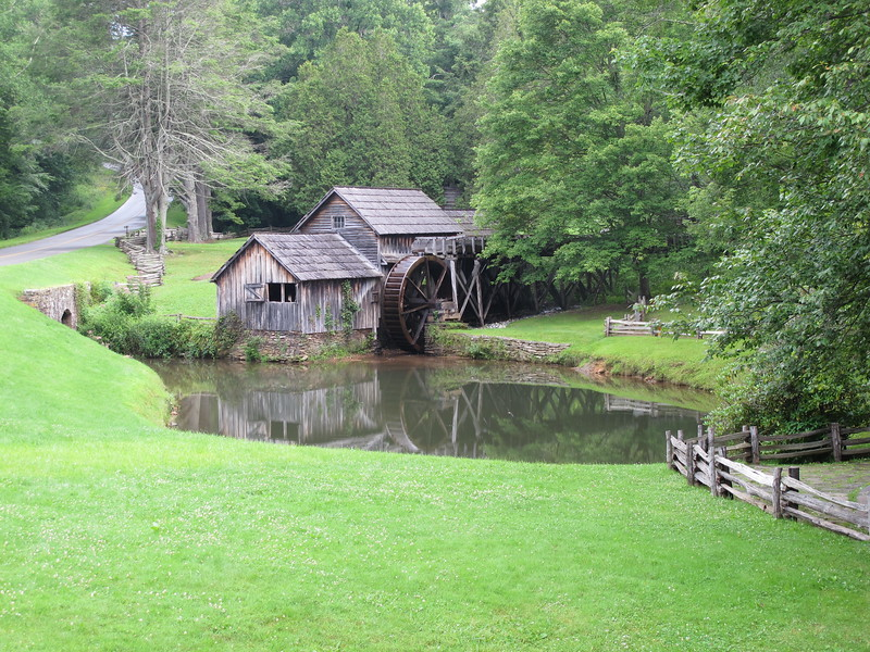 Mabry Mill along the Blue Ridge Parkway