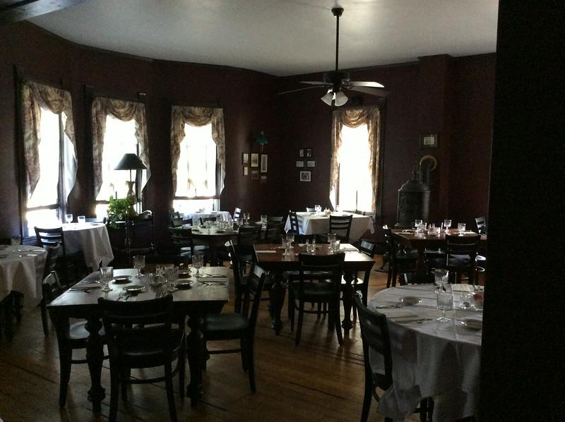 Dining Room at The Highlands Inn in Monterey, VA