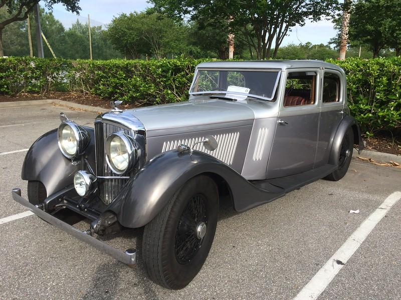 1934 Derby Bentley 3 1/2 - B136CR - Mann Egerton