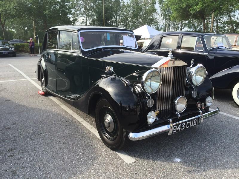 1946 RR Silver Wraith - WVA52 - Hooper