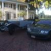 Monday Dawn Patrol Breakfast - Foreground -  2006 Bentley CFS - Back - 1914 RR Silver Ghost Alpine Tourer - 18PB