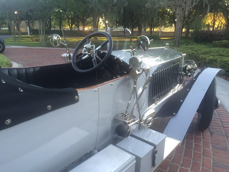 Monday Dawn Patrol Breakfast - 1914 RR Silver Ghost Alpine Tourer - 18PB