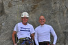 Rich and I at the end of a nice morning of climbing at the RQ 7-16-11