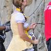 Alice in Wonderland costume at the RQ.