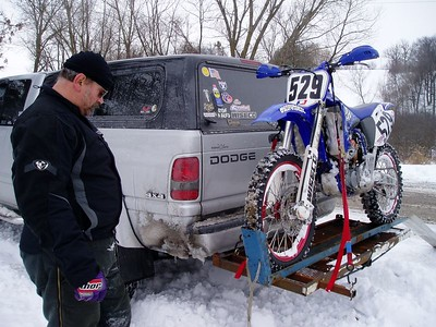 Pete DeGrand - Winter Riding 2005