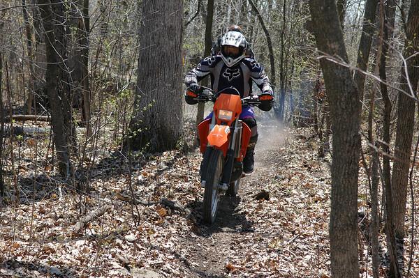 Spring 2007 - Riding at Mt. Tom