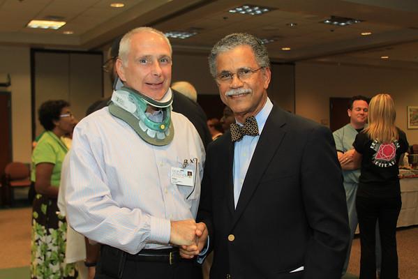 Dr. Samuel Hazell's farewell 9/22/10