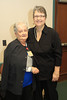 Carolyn Benton retirement party - with Susan Cothran