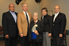 Carolyn Benton retirement party<br /> Jimmy Wilkerson, Allen Carroll, Carolyn Benton, Pennie Peralta, Ron Roy