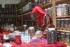 Kazura Bead Factory Nairobi<br /> Cottage industry employeeing single women and widows - bead making factory
