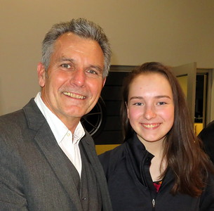 Roland Heiberger and daughter.