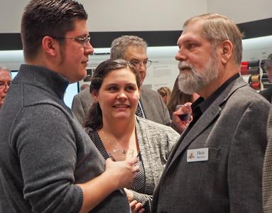 Kevin & Valerie Kral enjoy a conversation with former RSR president Rick Mammel.