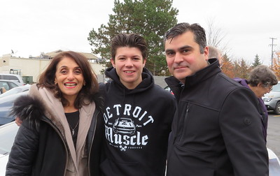 Narmeen Gaeta with Manuel Tenorio-Rios and his Nephew.