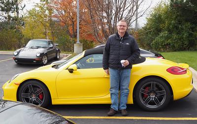 Chris Bahlman and his 2013 Boxter S.