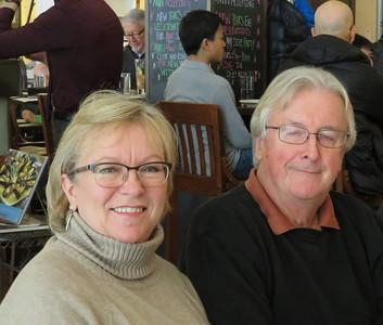 Paula and Dave Winston.