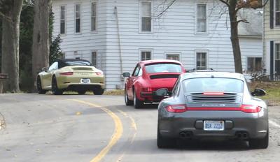 Driving through Michigan villages.