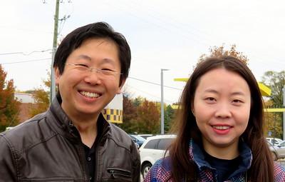 Yue Fan and friend.