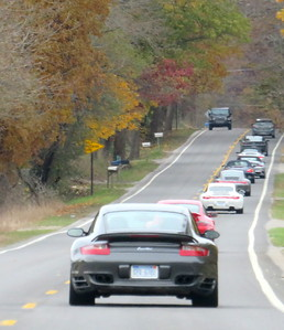 Forty + Porsches need a lot of road.