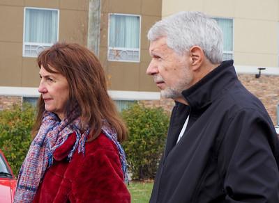 Melanie & Peter Grant.