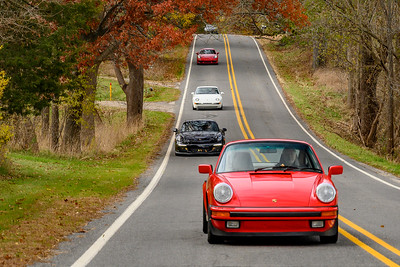 Peter Grant's 911 is in front.