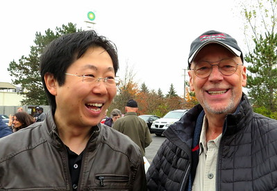 Yue Fan and Ted Francis.