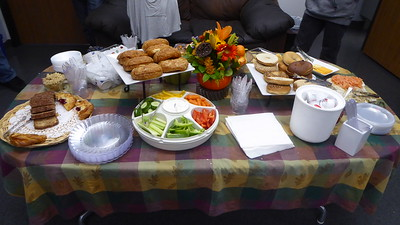 Automotive Techniques provided a generous breakfast for the 30+ participants.  Barb Jones lovingly arrange this spread.  We defintely enjoyed every bit.
