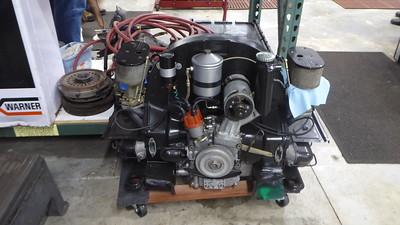 A Porsche 356 engine.