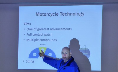 John discusses how much tires motorcycle tires have changed over the years.