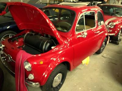 Jeff Jones'original Fiat 500.
