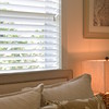 "2 1/2"" White Wood Blinds"