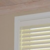 "2.5""  Normandy Wood Blinds color: Pearl Valance:  Contempo Valance"