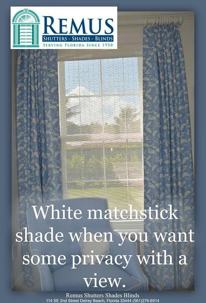 Match Stick Blinds