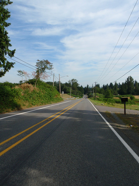 On the road to Snohomish.