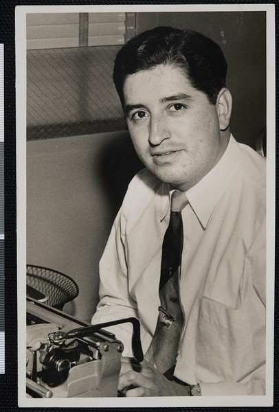 Ruben Salazar, El Paso, TX, 1955 [front]