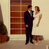 Ruben Salazar marries Sally Robare, Las Vegas, NV, 1960