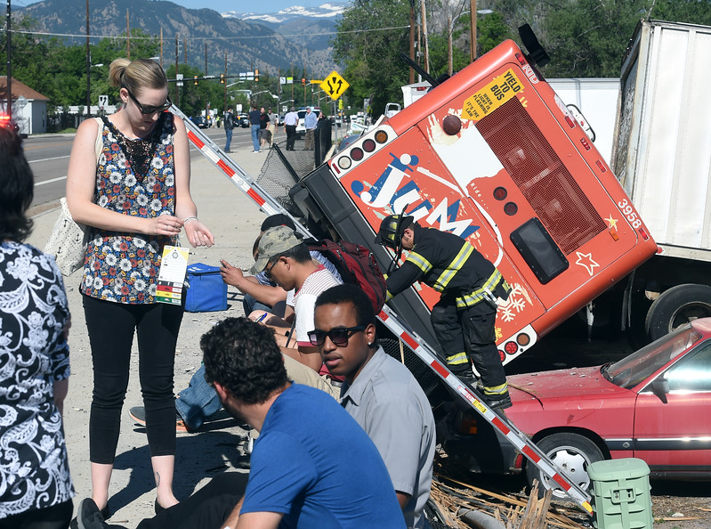RTD Bus Crash in Boulder
