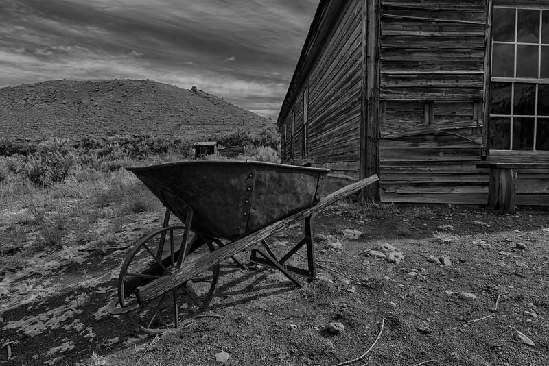 Rusty Wheelbarrow - Bannock State Park, MT