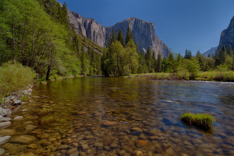 Yosemite River - Yosemite National Park, CA