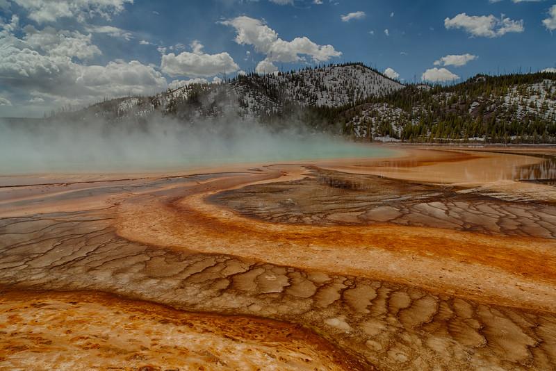 Geyser Pool - Yellowstone National Park, WY