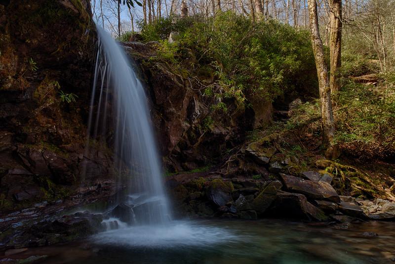 Grotto Falls - Near Gatlinburg, TN