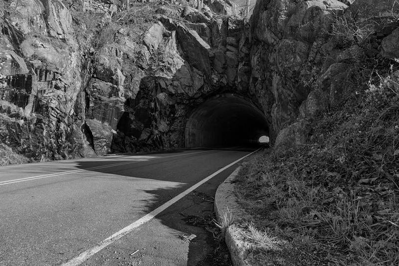 Skyline Drive Tunnel - Near Huntly, VA