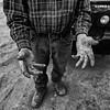 Jim Bishop's Hands - Near Rye, CO