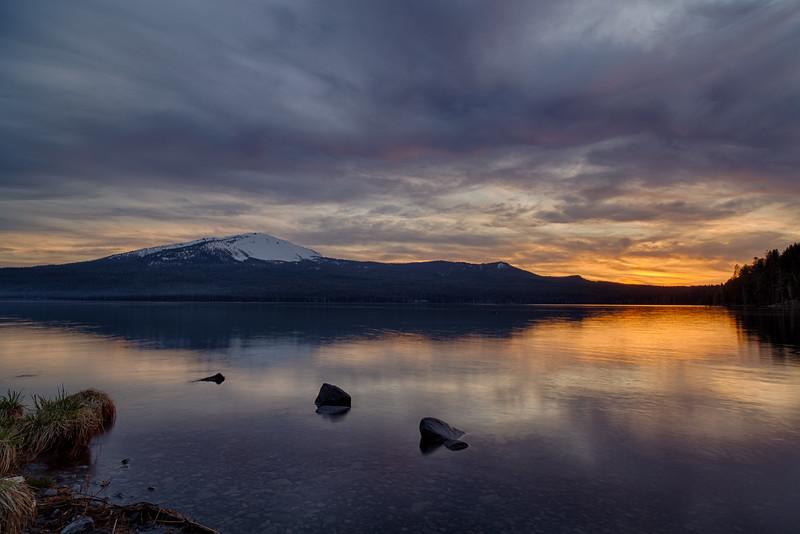 Sunset at Diamond Lake - Diamond Lake, OR