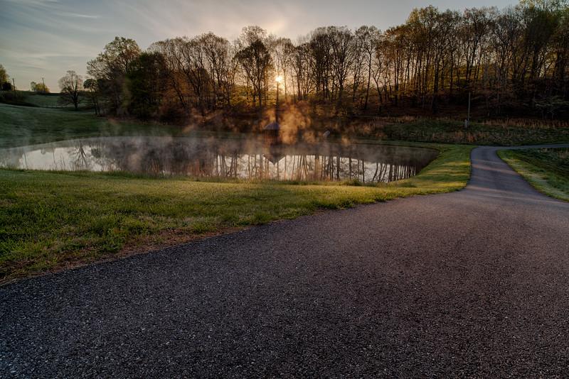 Foggy Pond – Near Charity, VA