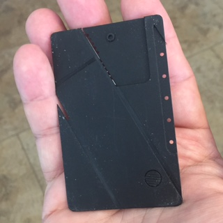 EDC Credit Card Knife