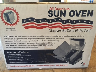 Sun Ovens International's All American Sun Oven
