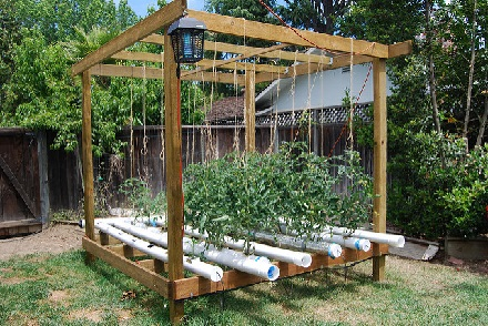 hydroponic pvc systems